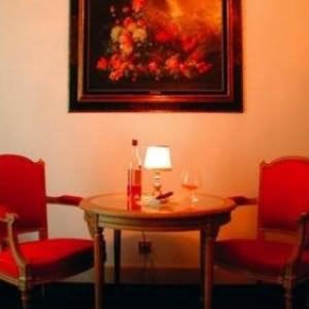Hostellerie de la Pommeraie: Interior