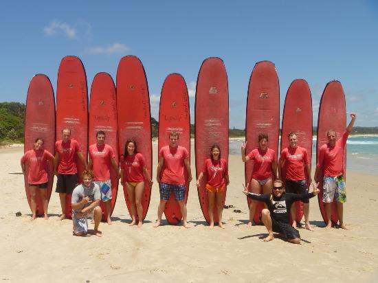 Byron Bay Style Surfing School: the class