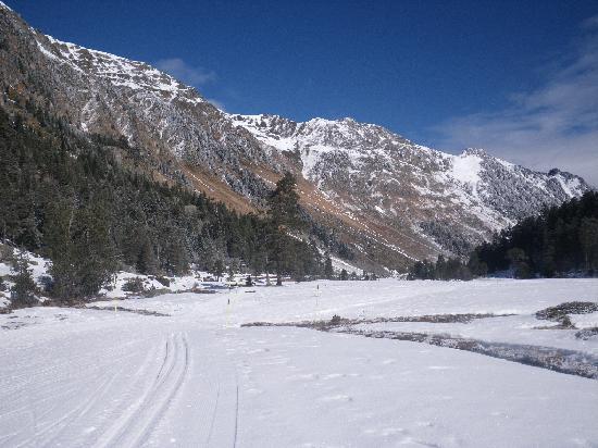 Hotel Centre et Poste: Cauterets ski de fond