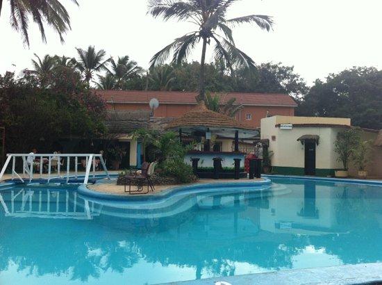 african village hotel pool
