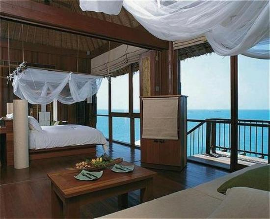 Six Senses Samui: Ocean Front Pool Villa Suite - Bedroom