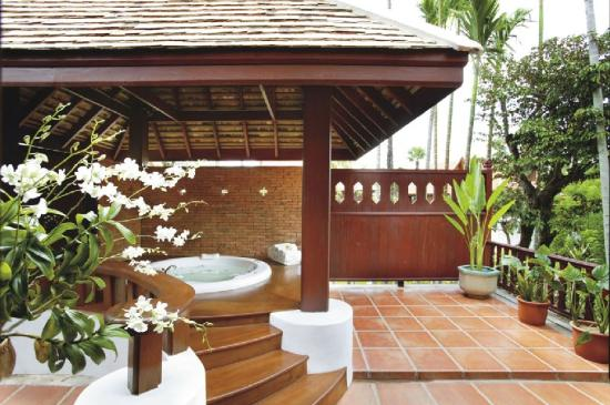 The Dhara Dhevi Chiang Mai: Deluxe Villa with Outdoor Jacuzzi