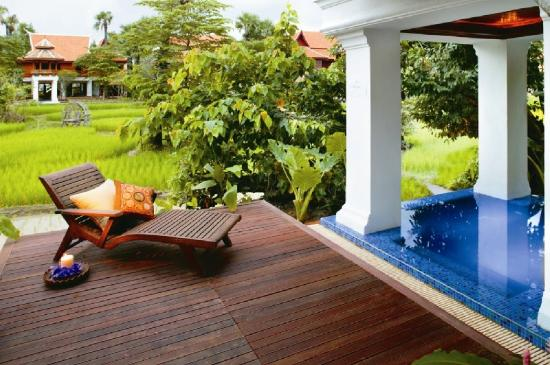 The Dhara Dhevi Chiang Mai: Grand Deluxe Villa with Plunge Pool