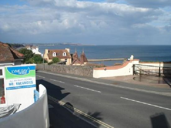 Lyme Bay House: View towards Exmouth