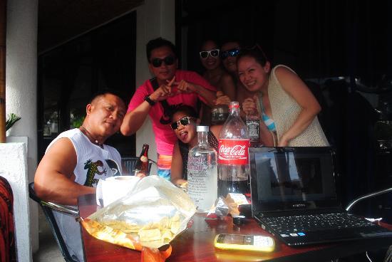 Mito's Place Boracay: veranda