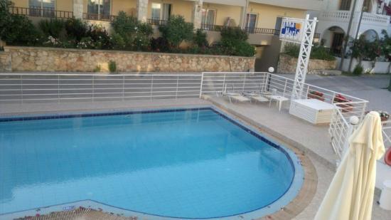 Anna Maria Hotel: Polen sedd från min balkong