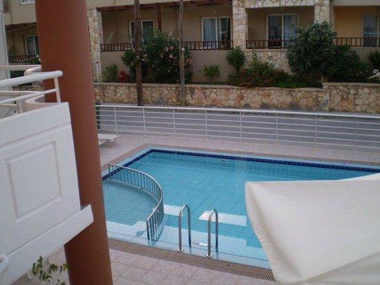 Anna Maria Hotel: Den lilla polen från min balkong