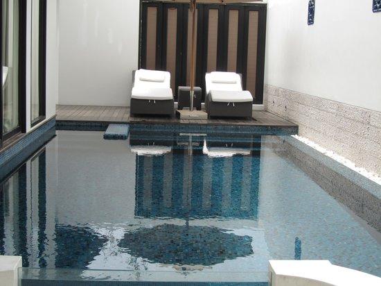 Anantara Bophut Koh Samui Resort: the private pool