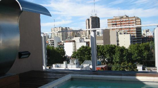 Fierro Hotel Buenos Aires: View from the roof/pool