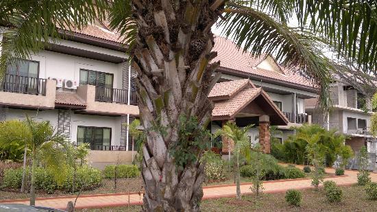 Kong Garden View Resort Chiang Rai: hotel haupthaus
