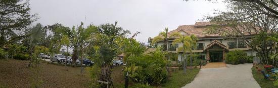 Kong Garden View Resort Chiang Rai: haupthaus panorama