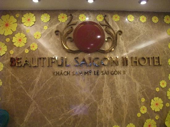 Beautiful Saigon Hotel 2: Reception