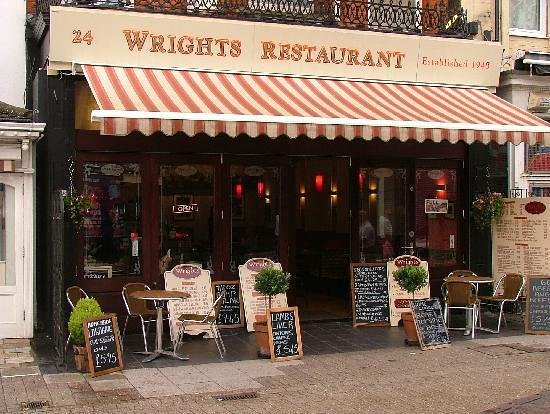 Wrights Restaurant: Outside Of Wrights