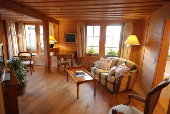 Hotel Alpenrose: Suite