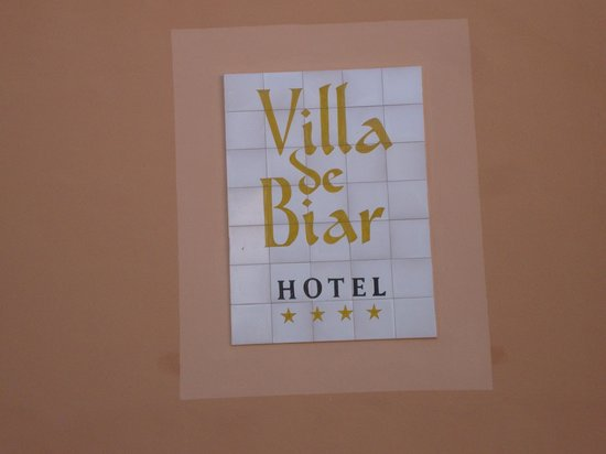 Villa de Biar Hotel: Parte posterior