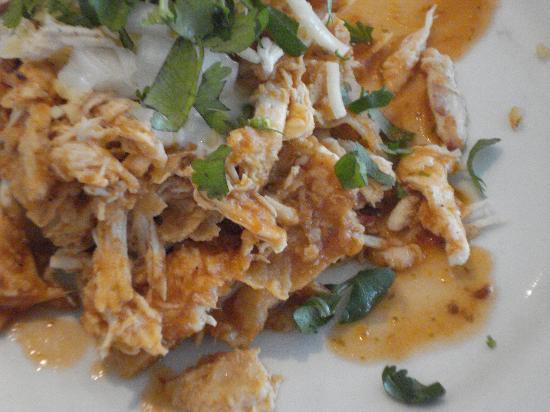 Cozumel Palace : Chilaquiles de pollo