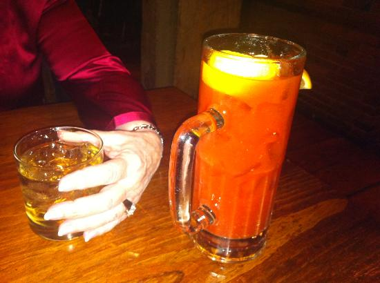 Wolfe's Tavern : How 'bout that bloody mary!