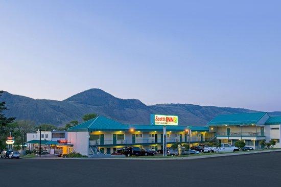 Scott's Inn and Restaurant - Kamloops : Beautiful Sunset View
