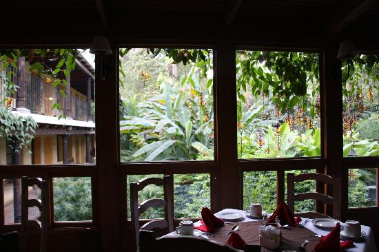 Hotel Las Farolas: la salle a manger