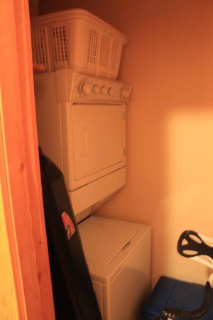 Grizzly Lodge: Washer/Dryer in unit (dryer didn't work)
