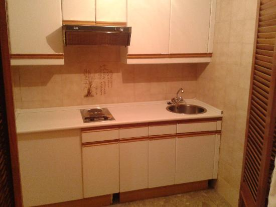 Suites Hotel - Foxa 25: cocina