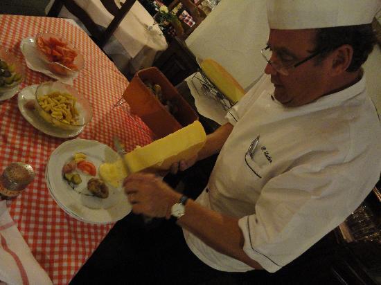 Alfa Soleil: soirée raclette