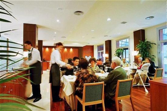 Hotel Berga Park: Restaurant