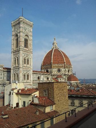 Hotel Medici: Vue de la terrasse