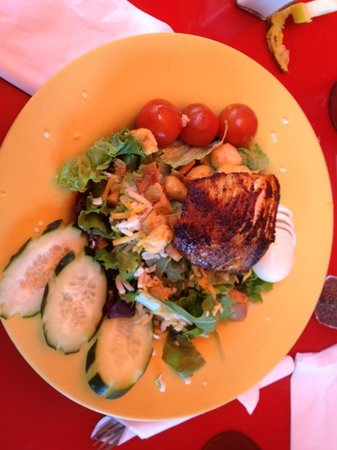 Kupanaha: fresh catch salad