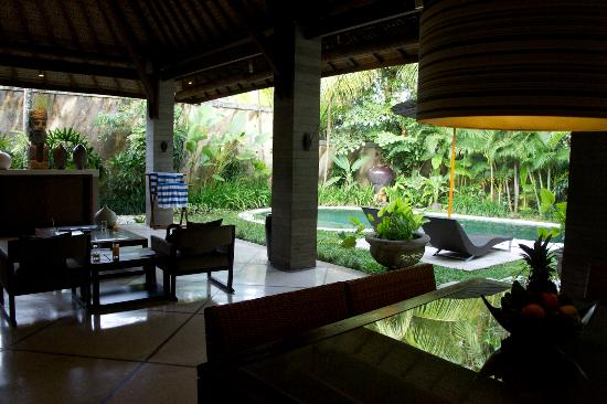 The Ahimsa: View from dining area