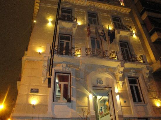 Hotel Diethnes : Το ξενοδοχείο πρόσοψη