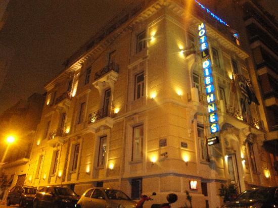 Hotel Diethnes : κτηριο