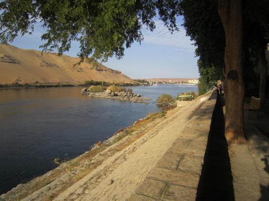 Aswan Botanical Garden: Sand hills