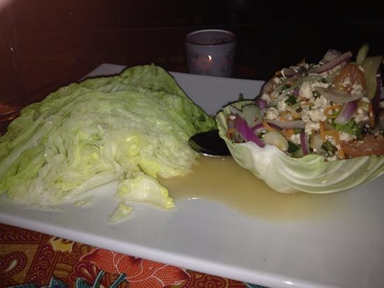 Tantra: Spicy lettuce wraps
