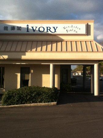 Ivory Chinese Bistro Dunedin Menu Prices Restaurant
