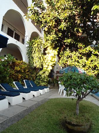 Hotel Delfin: La zona de la piscina