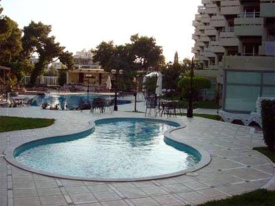 Oasis Hotel Apartments: Pool View