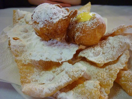 Trattoria Roma :                                     fritoe e gaeani
