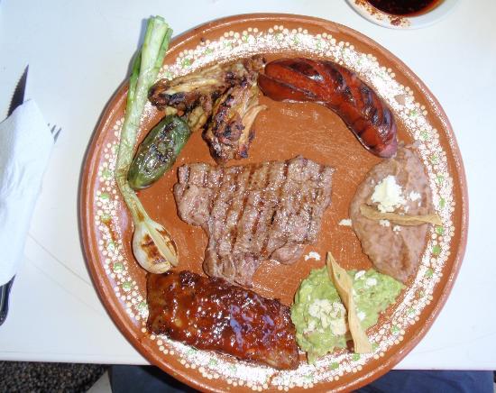 Moro Paraiso: Mixed grill