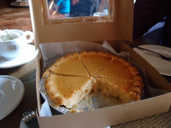 Savary Island Pie Company: the lemon buttermilk pie
