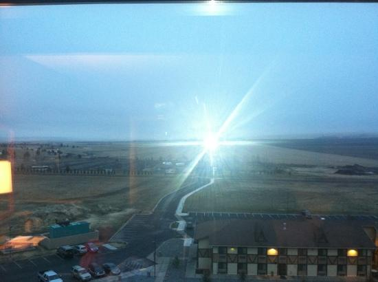 Pendleton, OR: The View from Our Eighth Floor Standard King Room