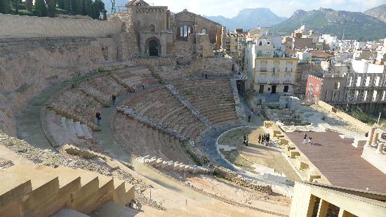Roman Theater Museum Cartagena - Picture of Roman Theatre ...