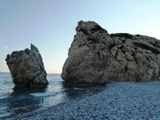 Κούκλια, Κύπρος: Der Felsen der Aphrodite