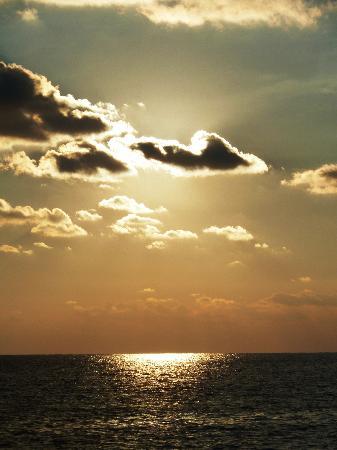 Kouklia, Kypros: Das Meer vom Felsen aus gesehen