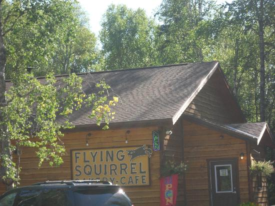 Flying Squirrel Bakery Cafe : l'ingresso del locale