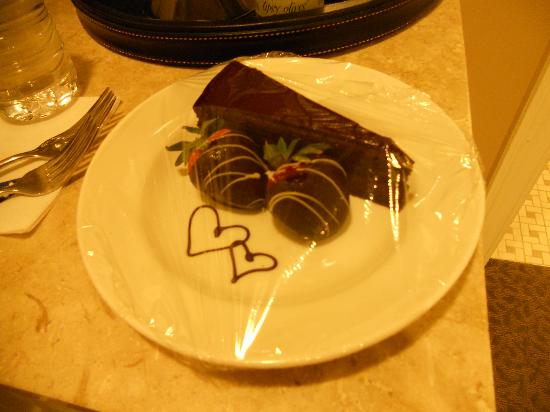 Woodmark Hotel & Still Spa: Valentine's sweets