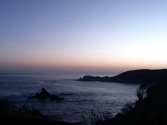 Casa Pan de Miel: vista dalla stanza al tramonto