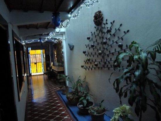 Hotel Casa Cristina: Hotel entry hall