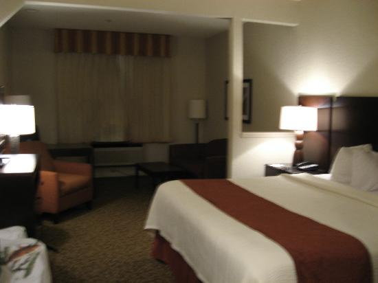 Best Western Plus Westchase Mini-Suites: King suite- very clean and spacious