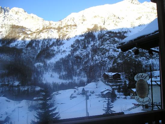 Les Rochers: View from our room